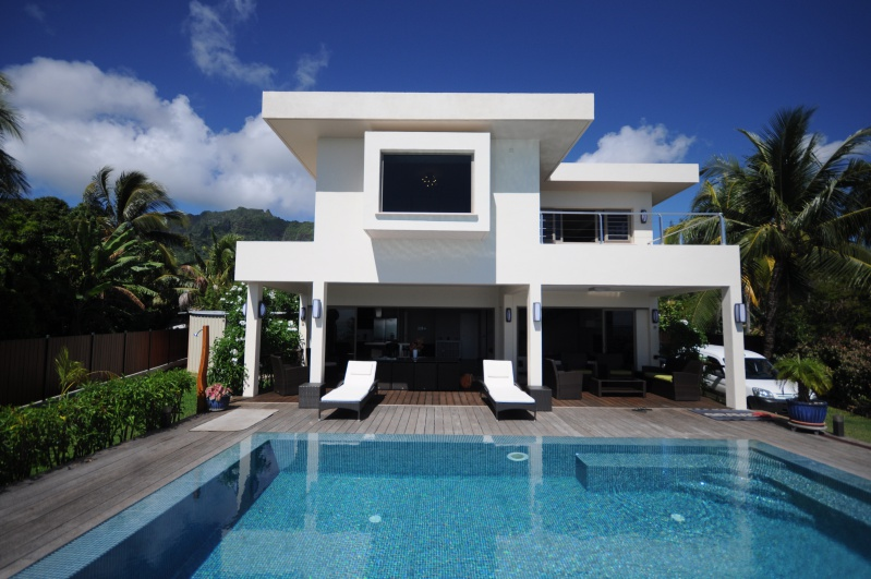 Villa maharepa beach - Architecture petite villa moderne ...